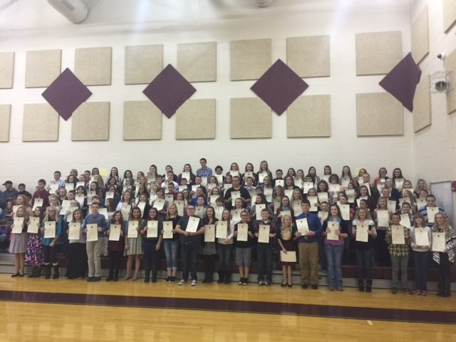 2015 Beta Club Inductions