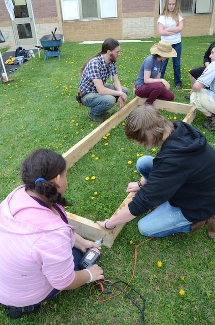 Building Raised Bed Frames