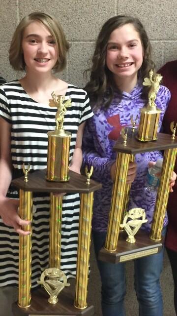 2017 Vinton County Spelling Bee Winners