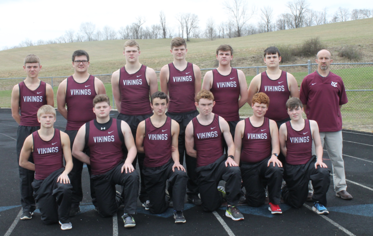 2017 Boys Track - Courier Photo by Tyler Buchanan