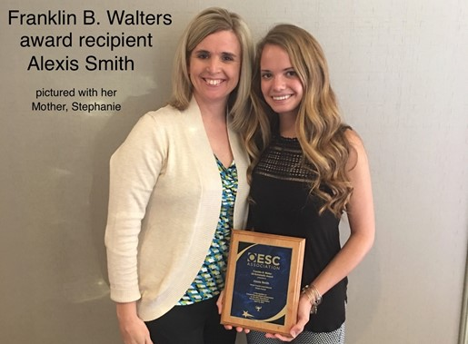 Franklin B. Walters Award Recipient, Alexis Smith