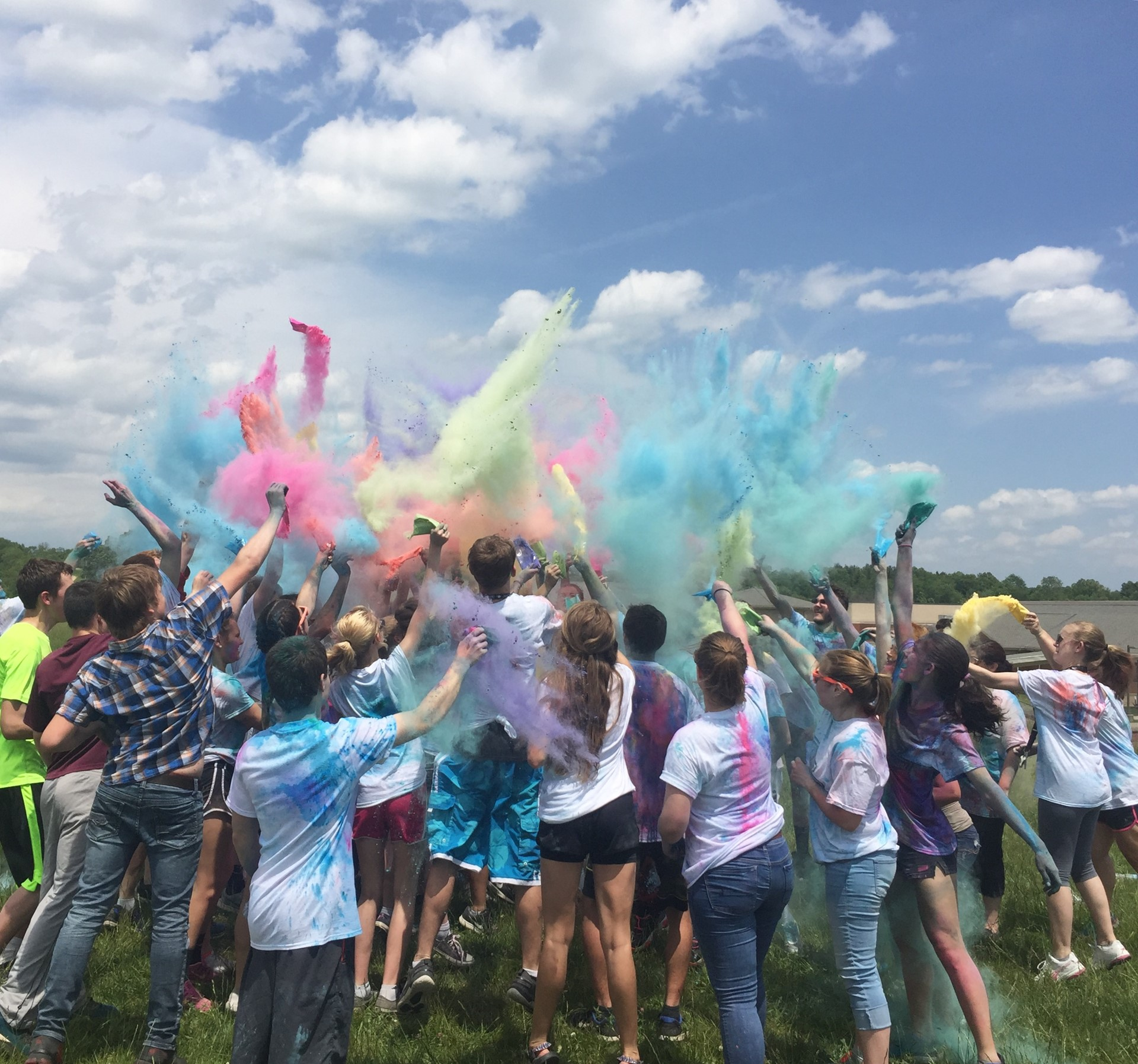Color Run Participants