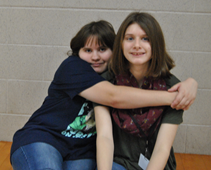 Katelynn Webb and Katie Johnson
