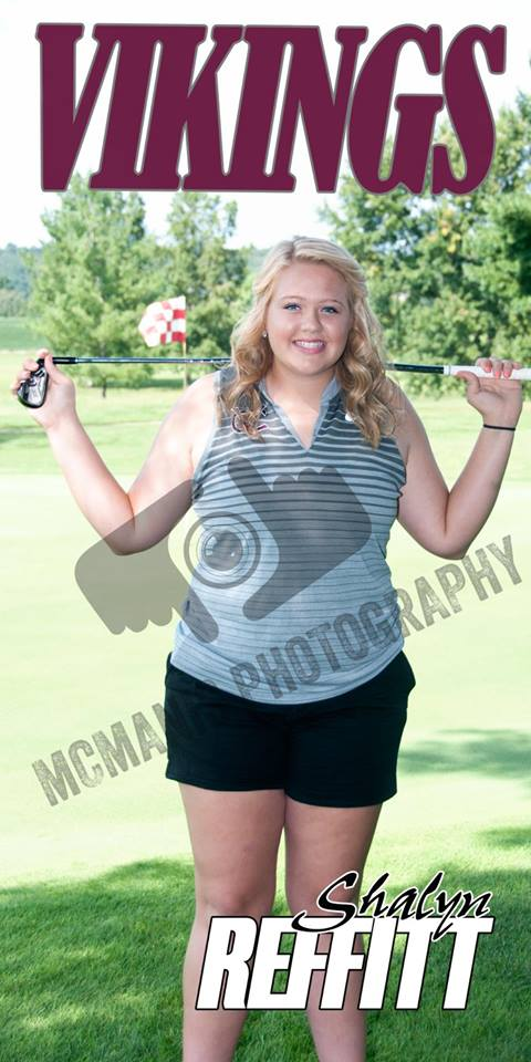 Shayla Reffitt - VCHS Senior - Golf