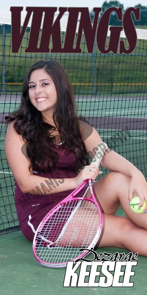 Dezarae Keesee - VCHS Senior - Tennis