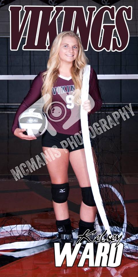 Kelsey Ward - VCHS Senior - Volleyball