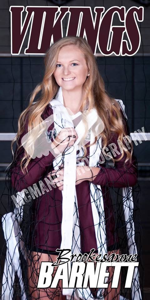 Brookesanne Barnett - VCHS Senior - Volleyball