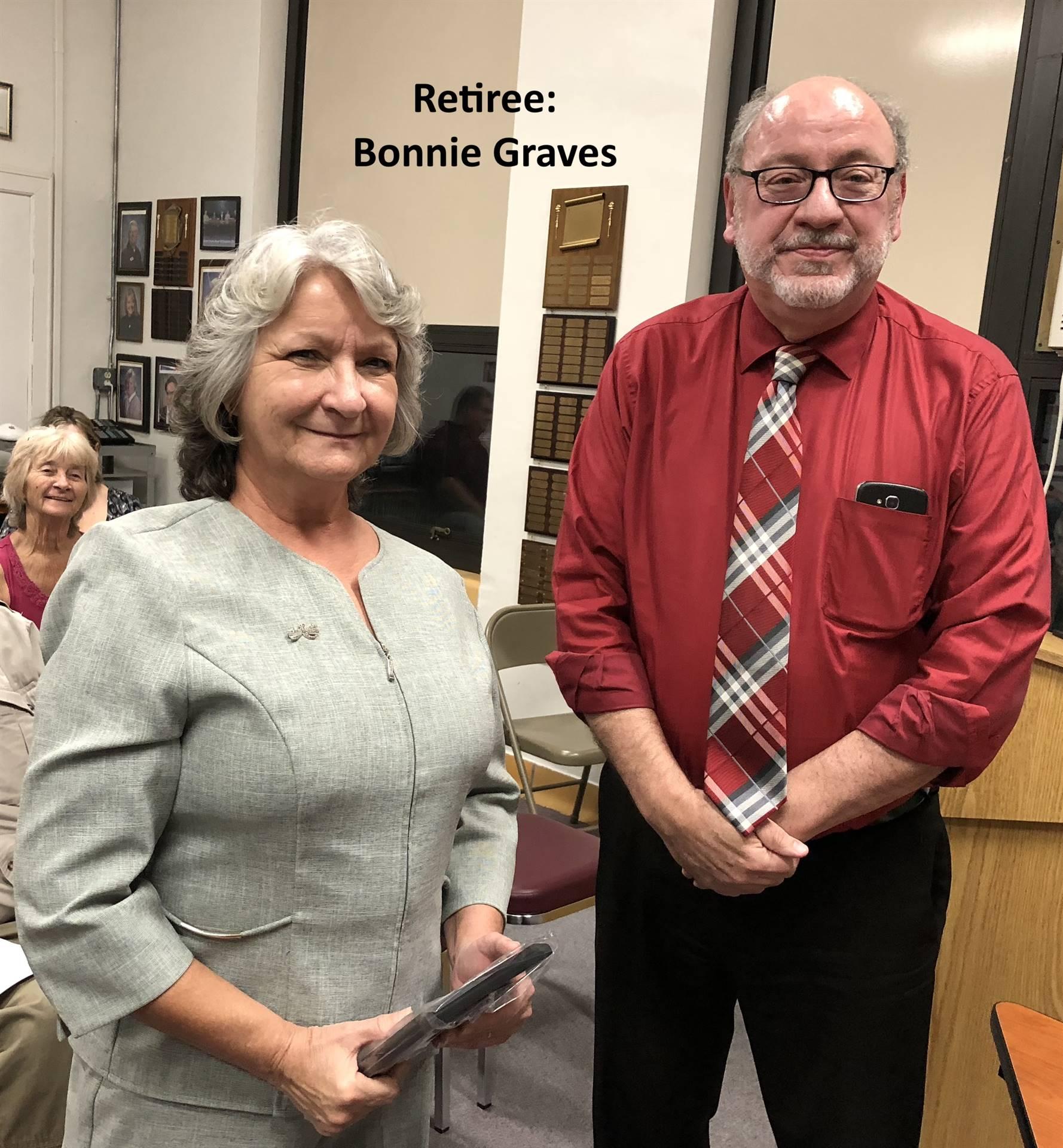 Retiree:  Bonnie Graves