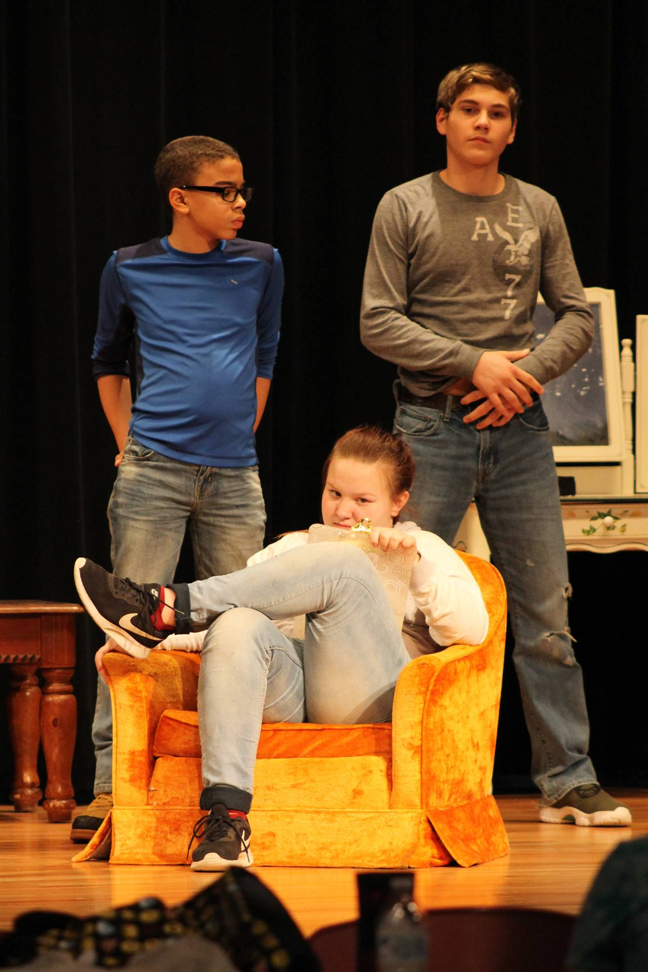 VCMS Drama Production of Murder at the Goon Show