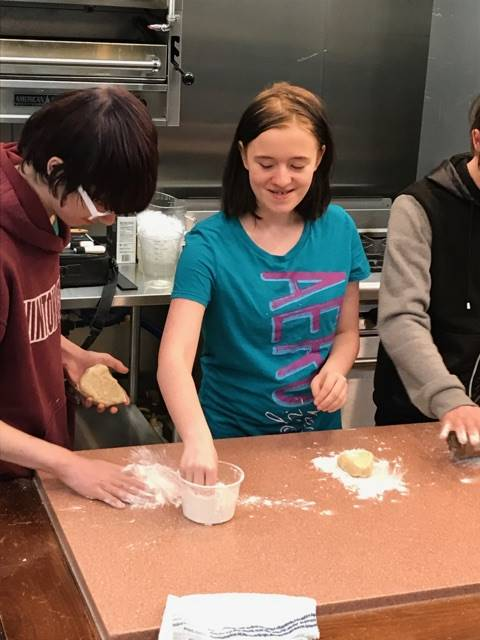 Learning to cook at Hocking College