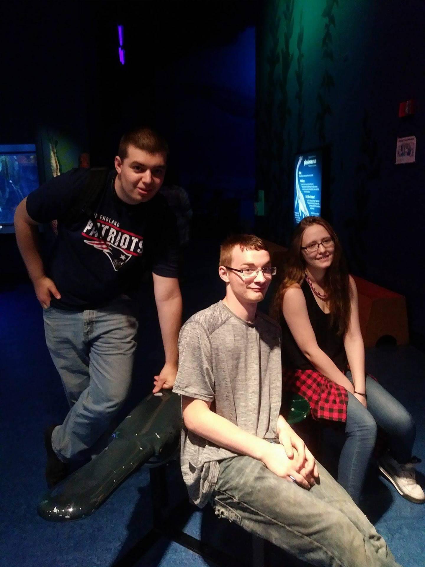 VCU Visits Newport Aquarium