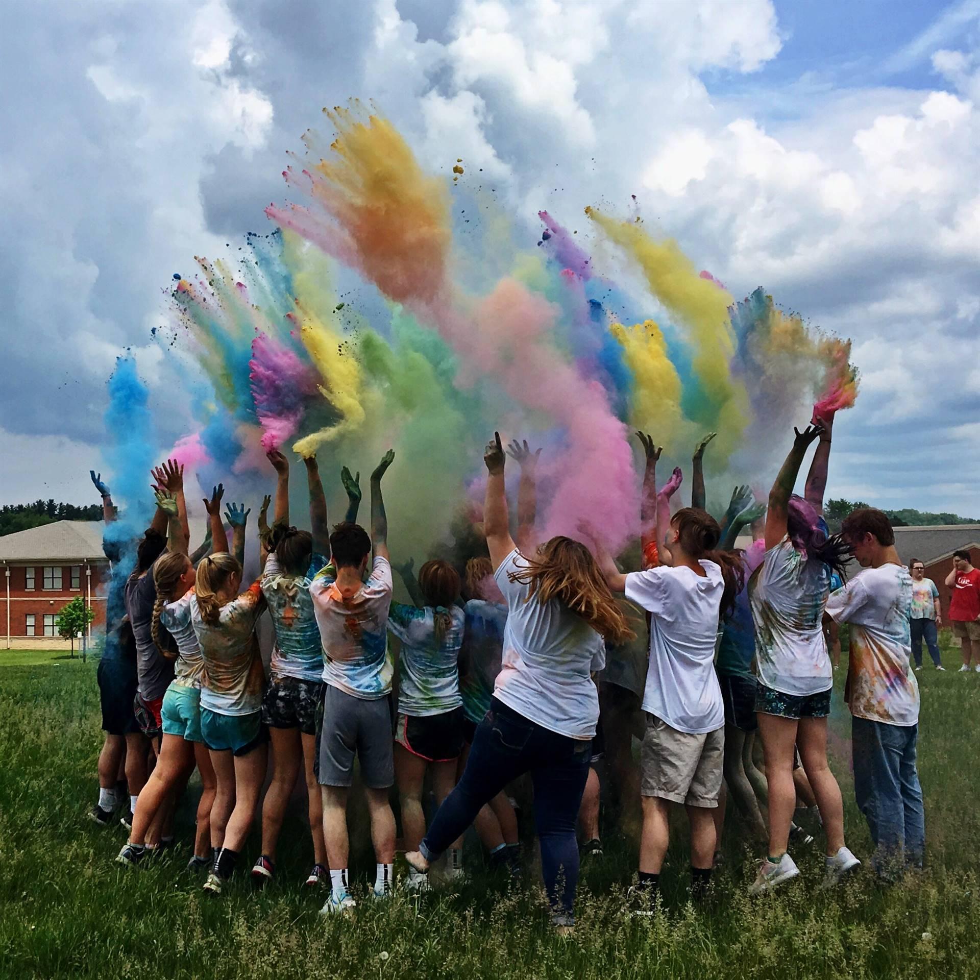 VCHS Keith Palmer Memorial Color Run