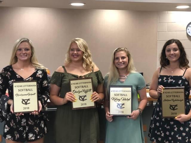 2018 Senior Softball Awards