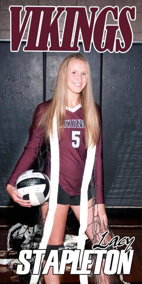 2018 Senior Volleyball Player