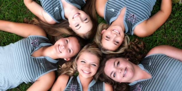 2018 Senior Members of the Ladies Golf Team