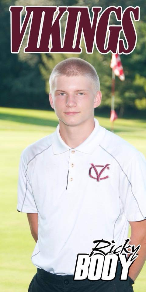 2018 Senior Member of the Boys Golf Team