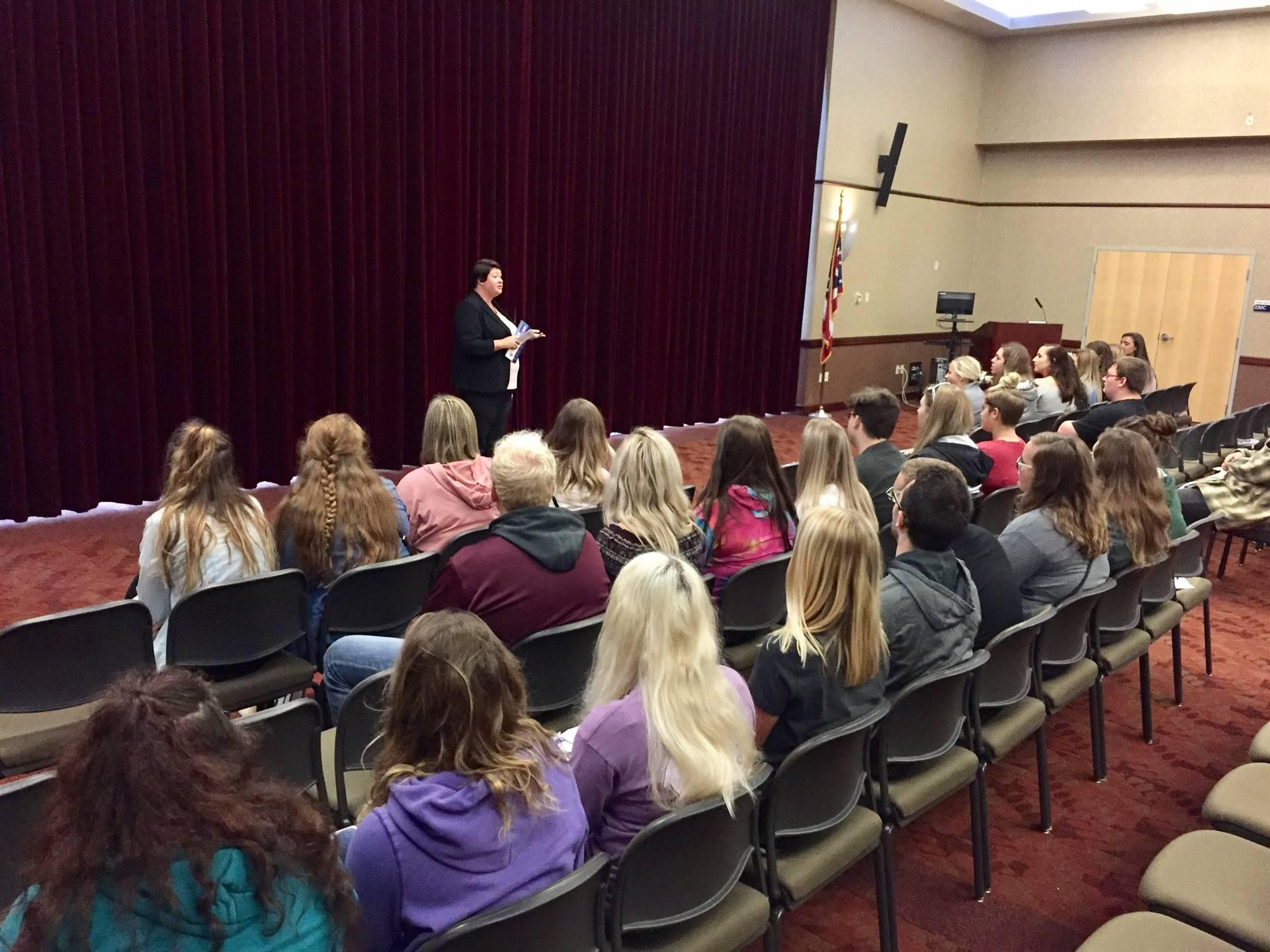 College Visit to Shawnee State University