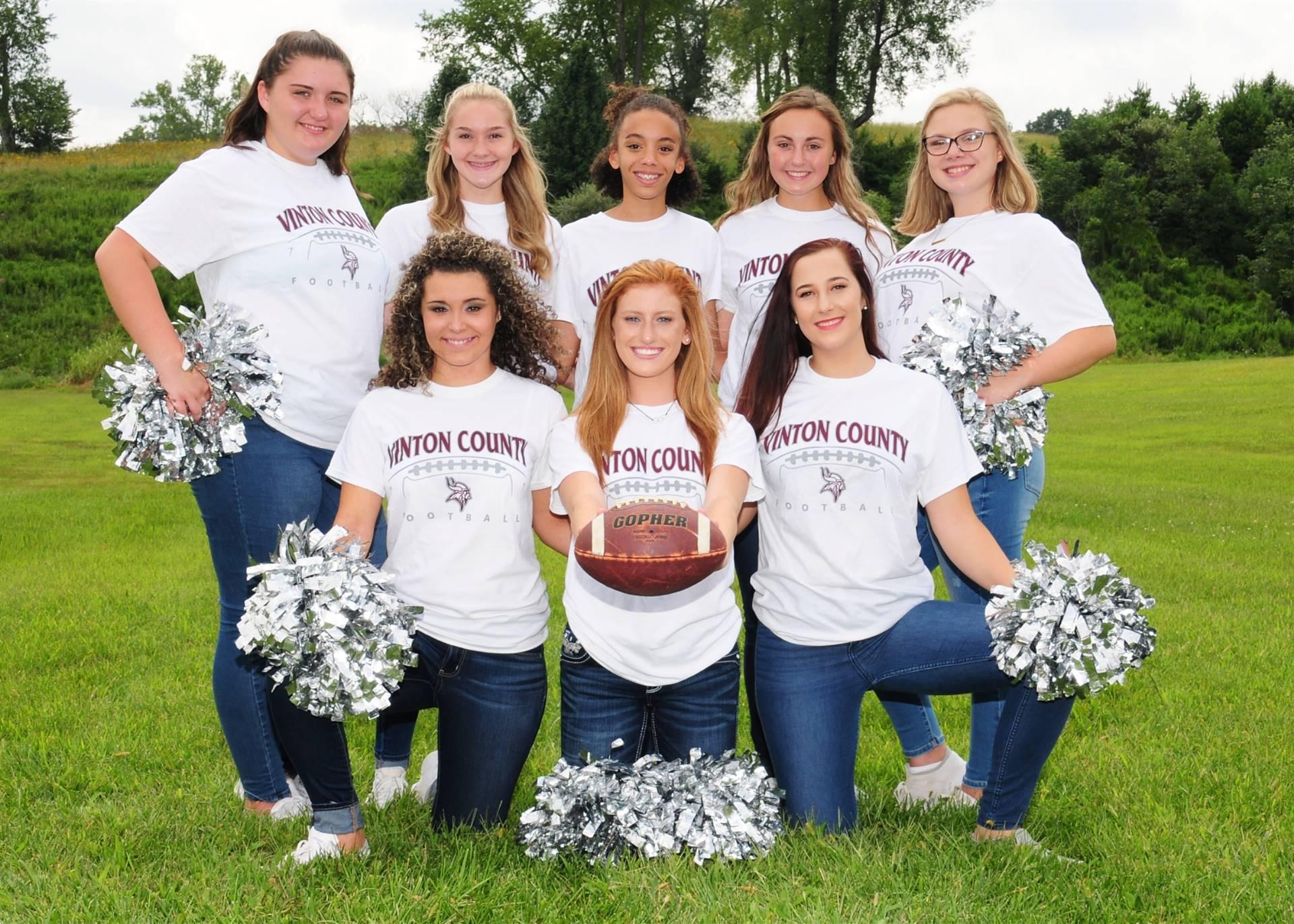 2018/2019 Varsity Cheerleaders