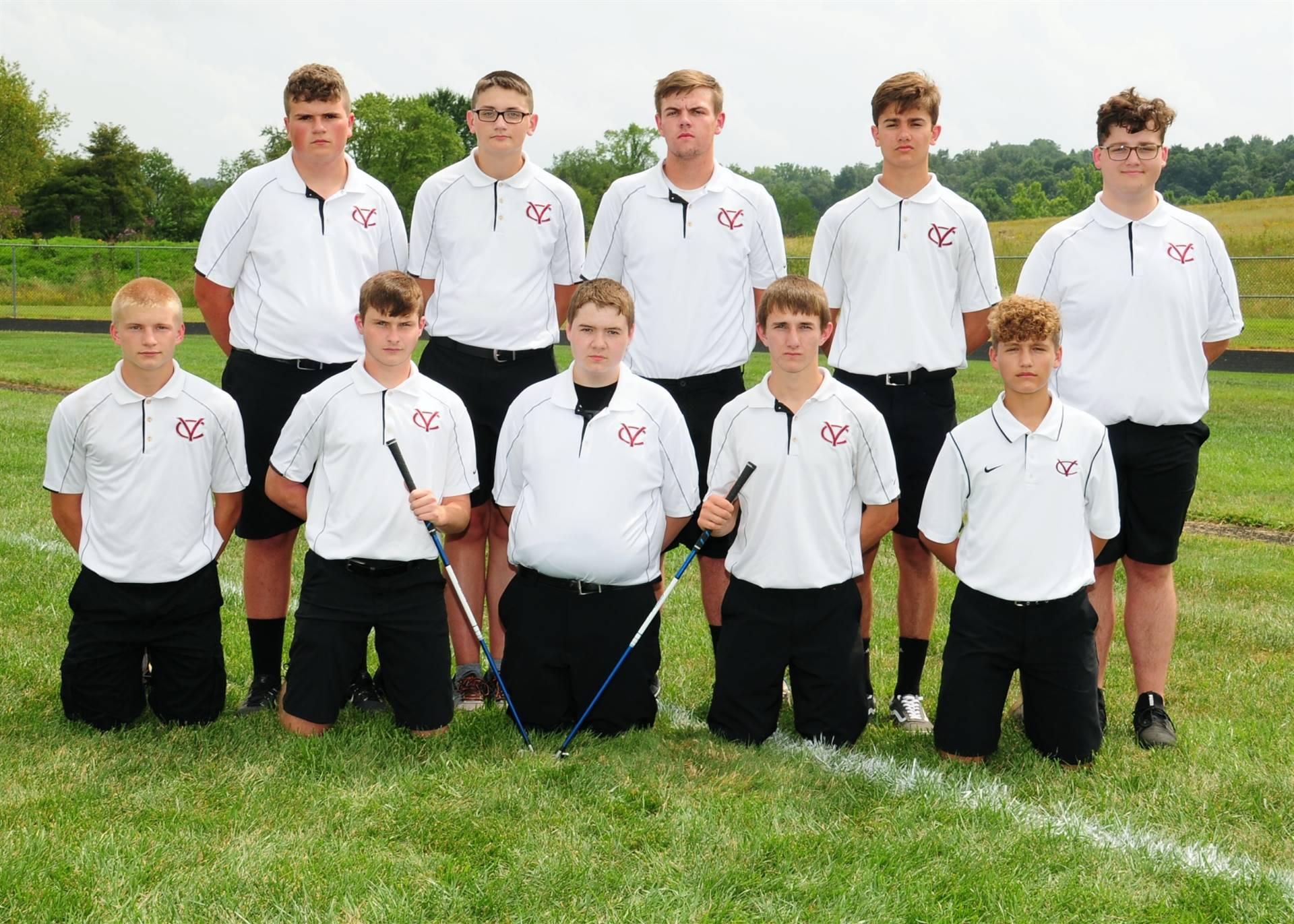 2018/2019 Boys Golf