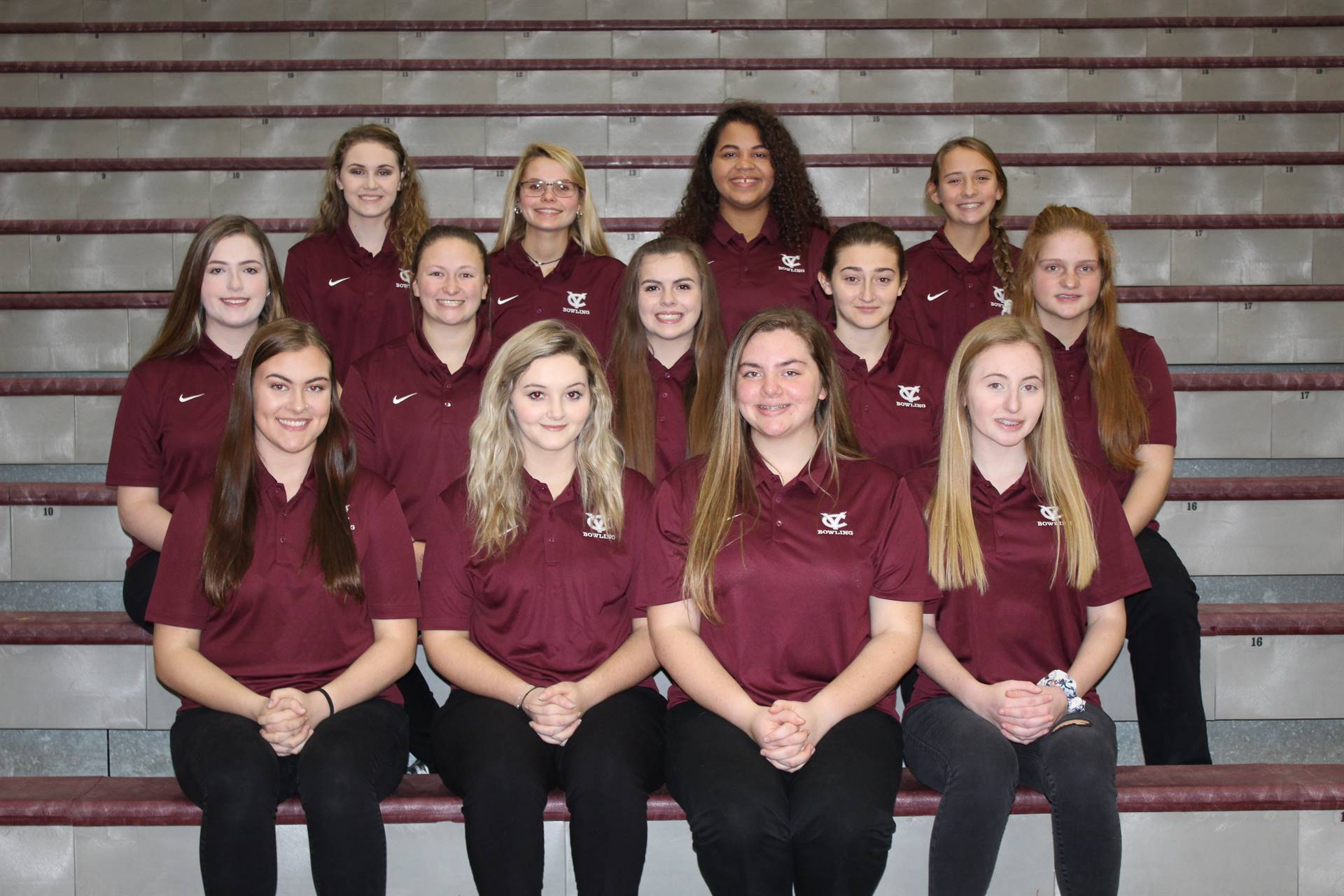 2018/2019 Girls Bowling Team