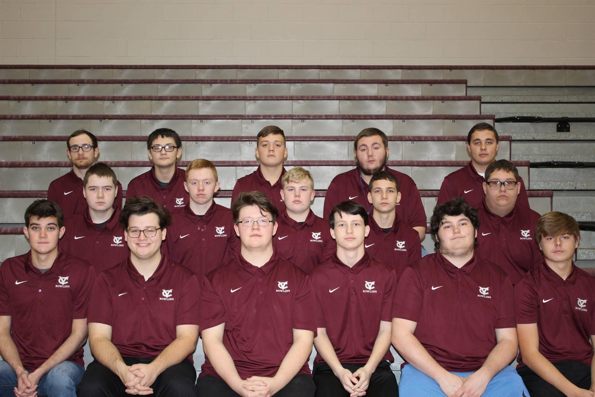 2018/2019 Boys Bowling Team