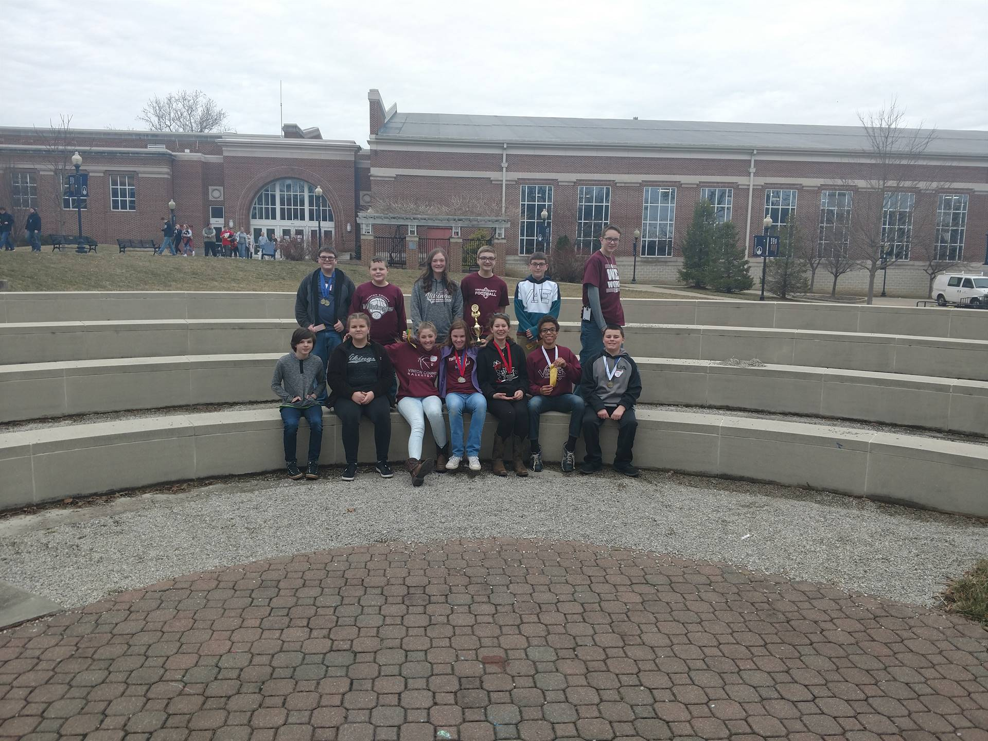 State Qualifying VCMS Science Olympiad team