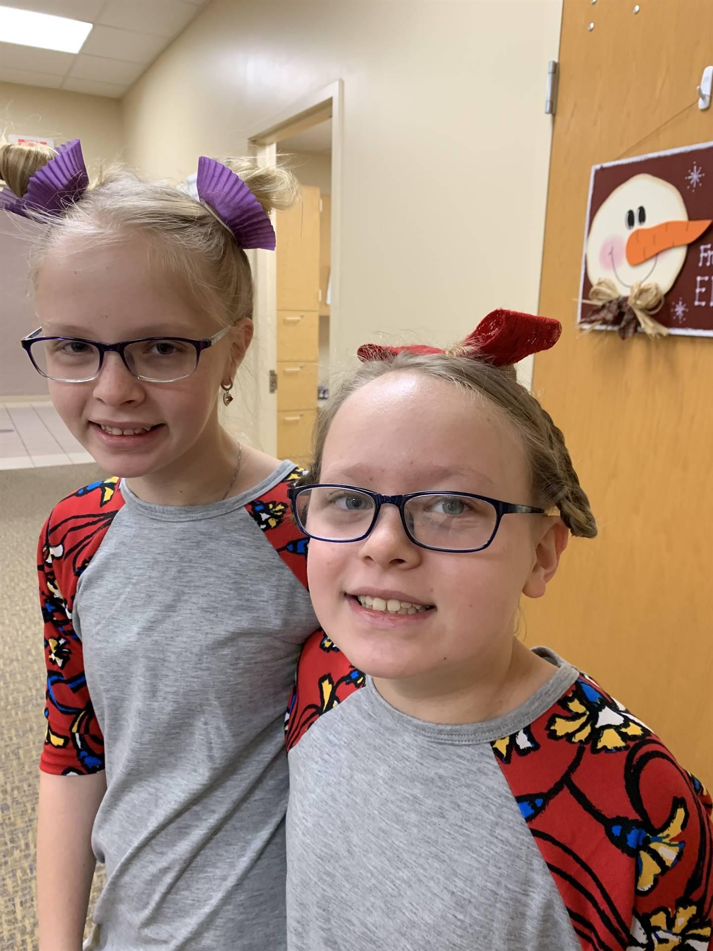 Kaylyn and Kolbie