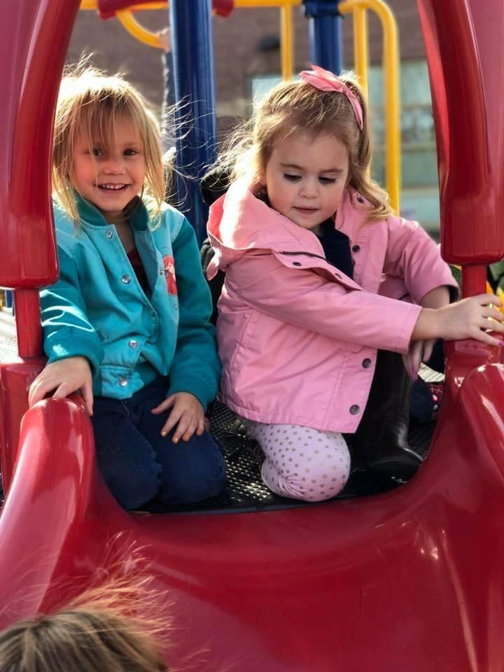 Preschool fun on play ground !