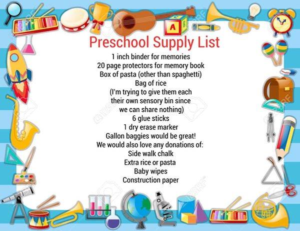 West PS Suggested Supply List