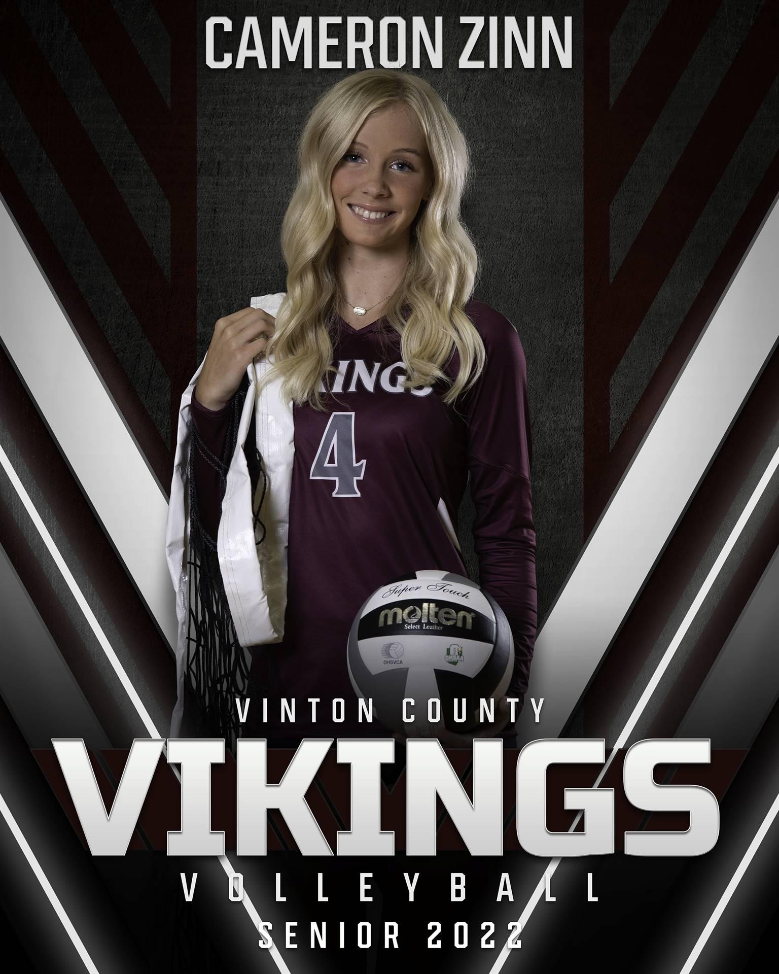 Cameron Zinn - Volleyball