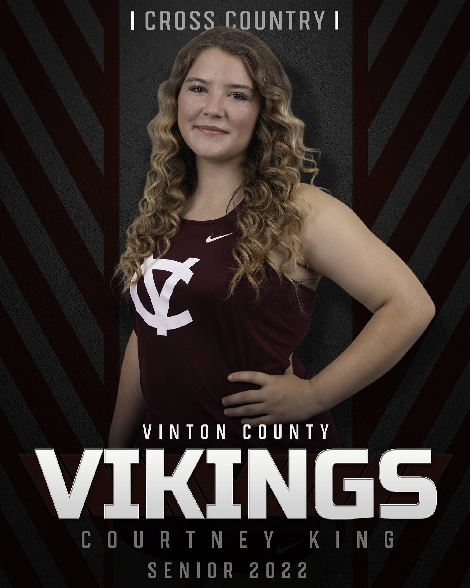 Courtney King - Cross Country